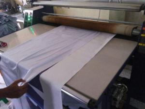 Kaos bola printing